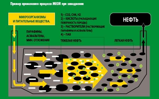 Коммерческое применение микробиологических методов увеличения нефтеотдачи