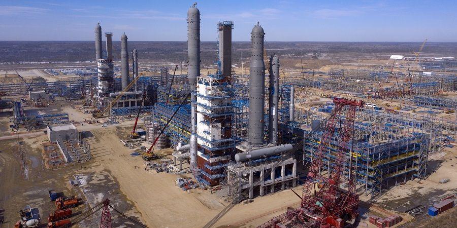 Амурский ГПЗ готовится к запуску первой установки для производства гелия