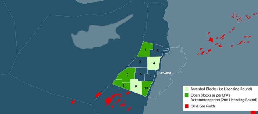Offshore oil treasures in eastern Mediterranean sea