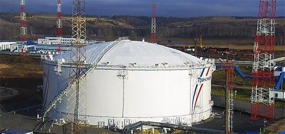 Транснефть-Верхняя Волга завершила строительство резервуара емкостью 50 тыс м3 на НПС Горький