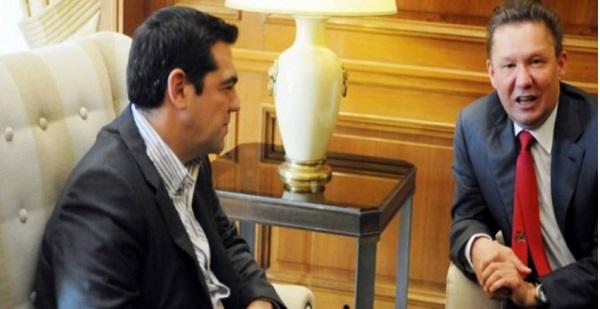 А.Миллер и А.Ципрас пока не подписали документов по греческому газопроводу - отводу от МГП Турецкий поток