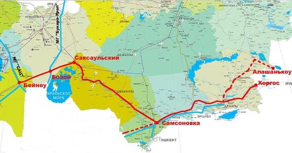 Строительство газопровода Бейнеу-Бозой в Казахстане начнется в 2013 году