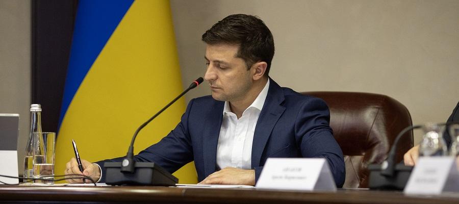 Президент Украины В. Зеленский подписал указ о мерах по стабилизации ситуации в энергетической сфере