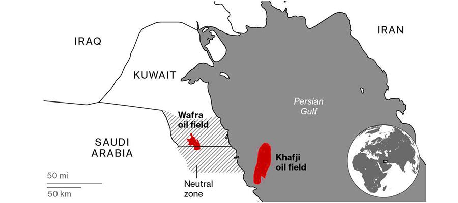 +0,5 млн барр./сутки. Кувейт и Саудовская Аравия продолжают переговоры по нейтральной зоне