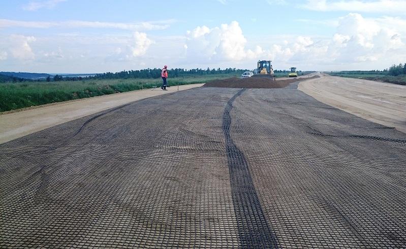 Геосинтетические материалы повысят качество подъездных дорог к Амурскому ГПЗ