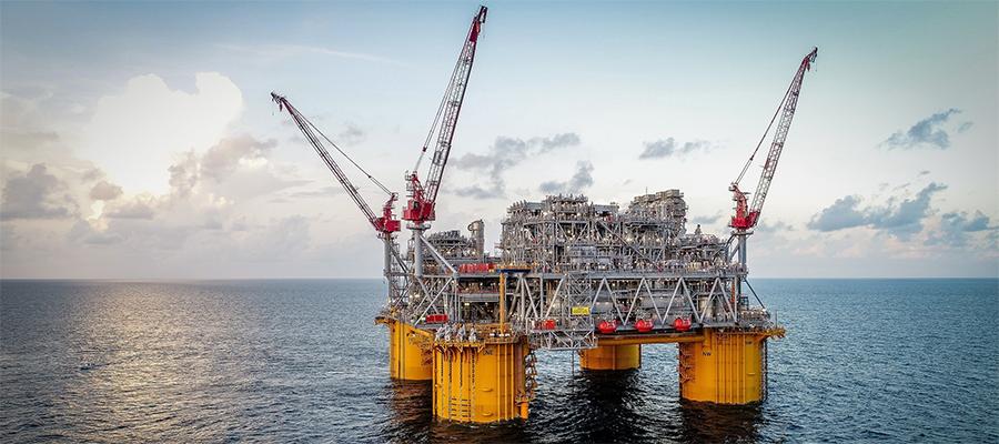 Досрочно. Shell начала добычу на платформе Appomattox в Мексиканском заливе