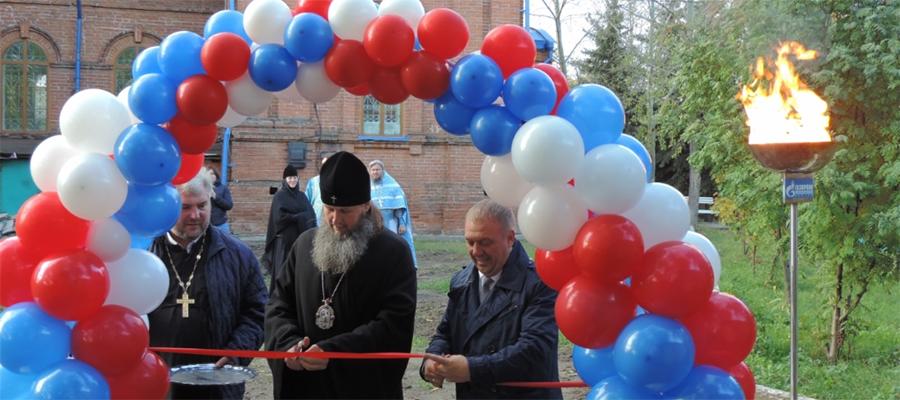 Газпром газораспределение Курган газифицировал Свято-Введенский храм в с. Введенское