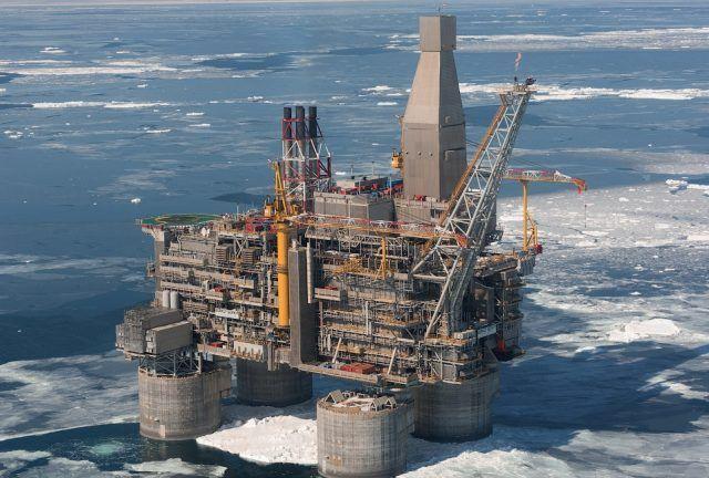 Морская ледостойкая платформа «Беркут»