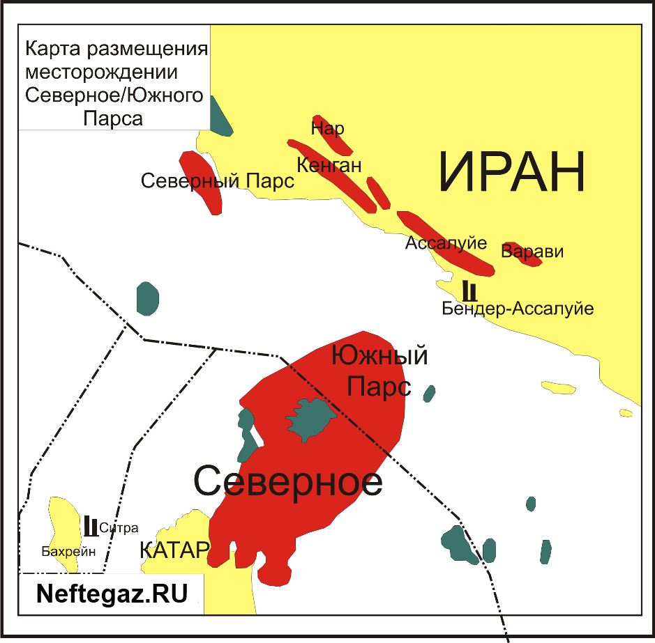 Иран увеличил добычу на месторождении Южный Парс