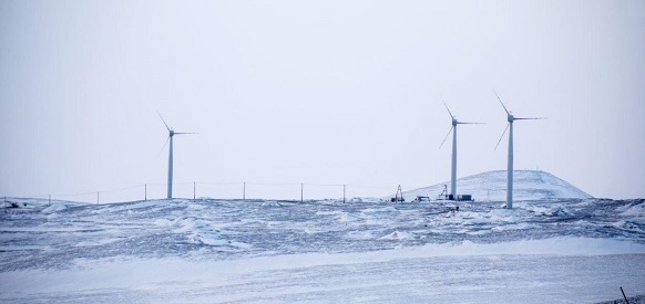 РусГидро с японцами ввела в эксплуатацию уникальную ветряную электростанцию в арктическом пос. Тикси