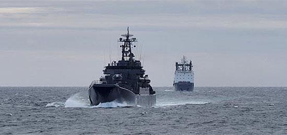 В ходе 6-го Арктического похода гидрографы Северного флота открыли остров в районе ледника Чаева