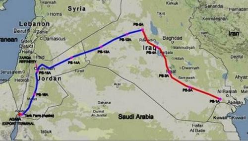 Ирак рассчитывает провести тендер на строительство 1-й очереди экспортного нефтепровода в Иорданию в 1-м квартале 2017 г