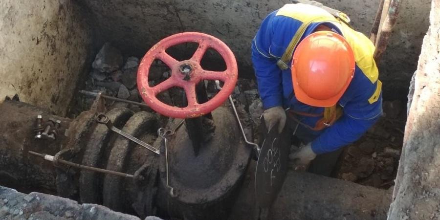 Газпром газораспределение Краснодар провел ремонт подземного газопровода под ж/д в г. Армавир