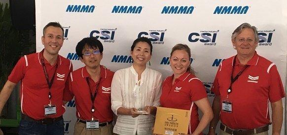 Судовой двигатель YANMAR 3JH40 получил награду за инновации