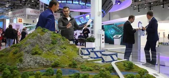 В г Сочи отркывается Российский инвестиционный форум, где Минприроды РФ удивит гостей необычным стендом