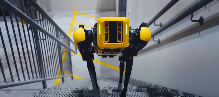 На FPSO Skarv компании Aker BP в Северном море начал работать четвероногий робот Spot