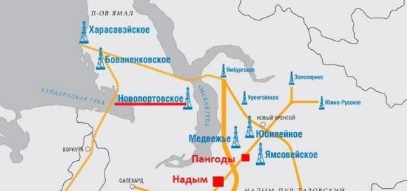 Millionth tonne of oil produced at Gazprom Neft Novoportovskoye field