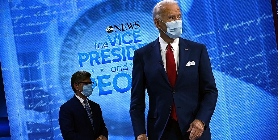 """Joe Biden said he would """"transition away from the oil industry."""""""