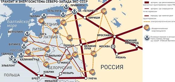 Североатлантический альянс намерен бороться с несущим угрозу Балтии советским наследием в виде единого энергетического кольца БРЭЛЛ