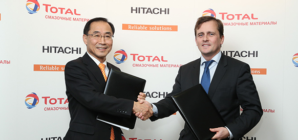 Total на недавно запущенном заводе в Калужской области начинает производство смазочных материалов для Hitachi