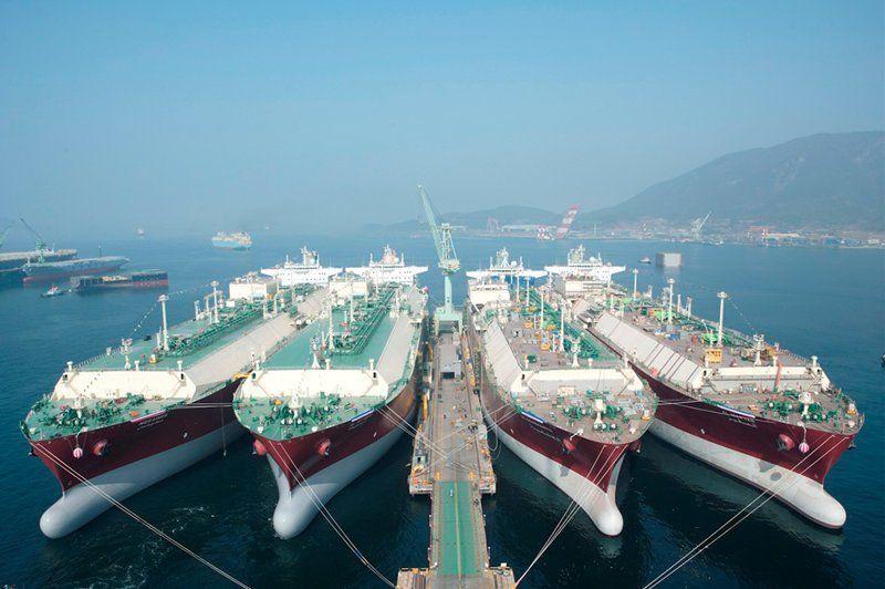 Морские перевозки СПГ: современное состояние и пути оптимизации транспортных систем