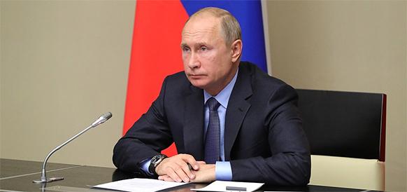 Северный коридор стал шире. В. Путин дал команду на старт 3-го газового промысла Бованенковского месторождения и газопровода Ухта - Торжок - 2