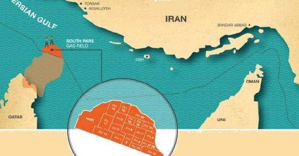 К концу апреля 2017 г Иран запустит на полную мощность добычу газа на 2-х фазах Южного Парса