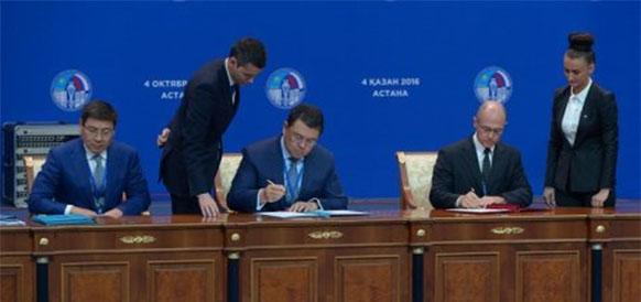 Казатомпром и Росатом намерены расширить сотрудничество в области ядерного топливного цикла