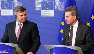 3 мая 2013 г Г.Эттингер и Э.Ставицкий обсудили перспективы газотранспортной системы Украины. Планово