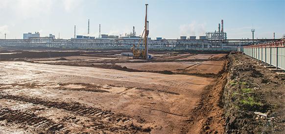 На Газпром нефтехим Салавате началось строительство производства технической серы