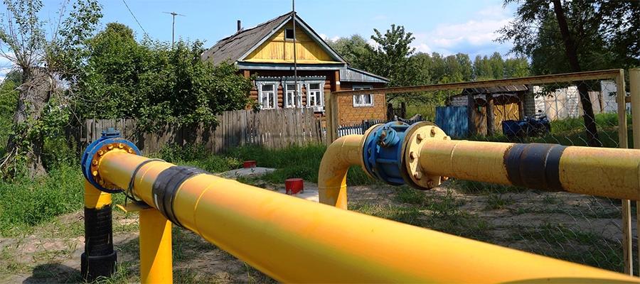 В Меленковском районе Владимирской области газифицированы еще 4 деревни