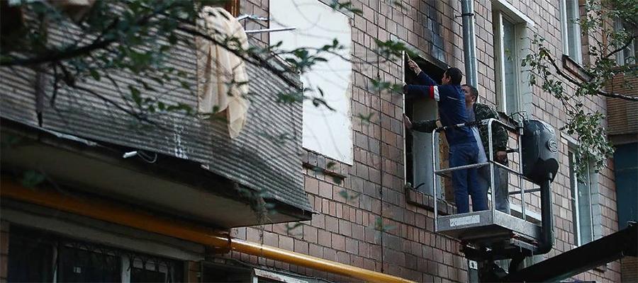 В жилом доме на юго-западе Москвы произошел взрыв газа