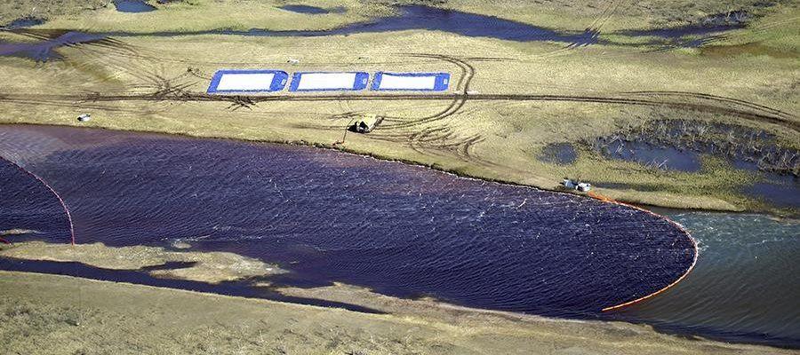 Ростехнадзор наложил на НТЭК максимально возможный штраф за разлив в Норильске