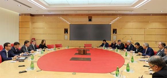 Соглашение ОПЕК+ и проекты ЛУКОЙЛа. Министр нефти Ирака Д. аль-Луэйби побывал в г Москве и провел ряд значимых встреч