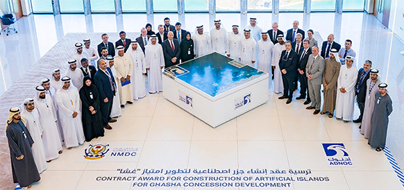 ADNOC awards US 1.36 billion contract for construction of Ghasha concession artificial islands
