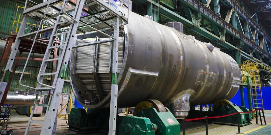 На Атоммаше комплект парогенераторов для 2-го блока АЭС Руппур прошел ключевой этап изготовления