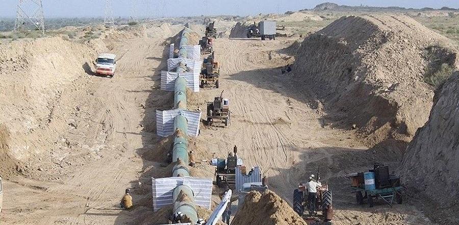 Прогресс работ по строительству нефтепровода Горе-Джаск в Иране достиг 60%