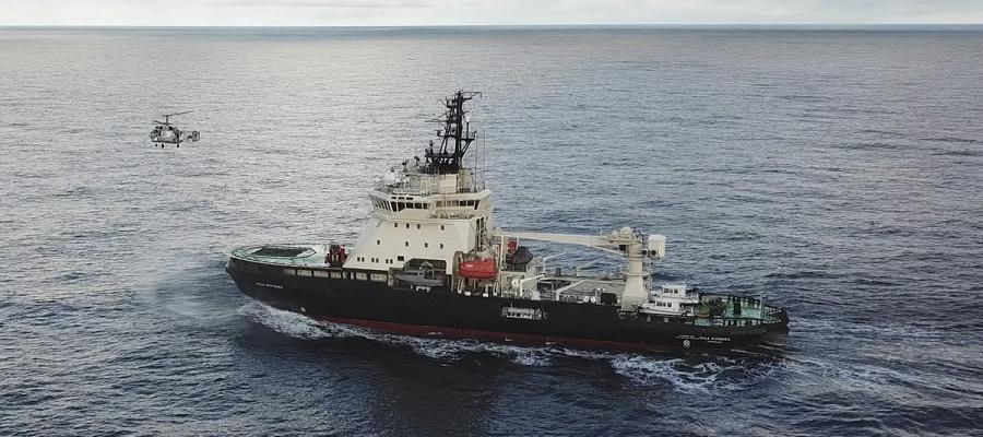 Начался третий этап комплексной экспедиции Северного флота и РГО в Кольском заливе