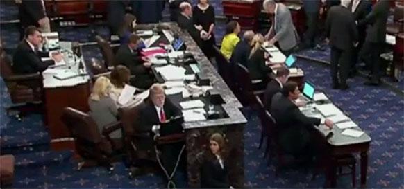Также почти единогласно. Сенат США одобрил законопроект о новых санкциях против России