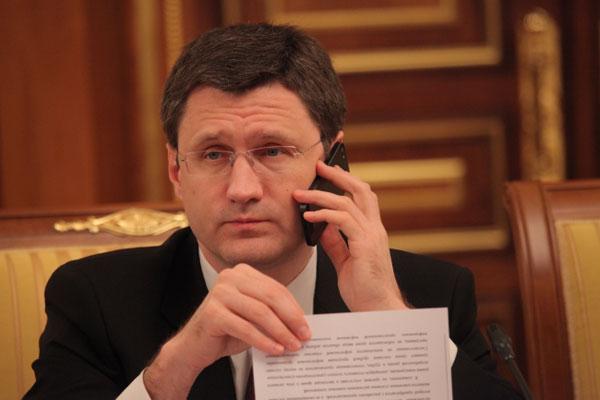 А.Новак: Украина пока не перечислила ни копейки в счет долга за газ