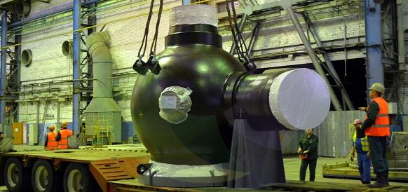 Петрозаводскмаш отгрузил реакторное оборудование для АЭС Куданкулам в Индии