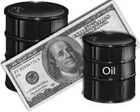 Цена на нефть не досчиталась доллара