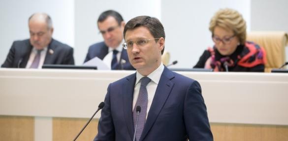 В Совете Федерации А. Новак рассказал об увеличении нефтегазовых доходов и стимулировании добычи нефти посредством НДД