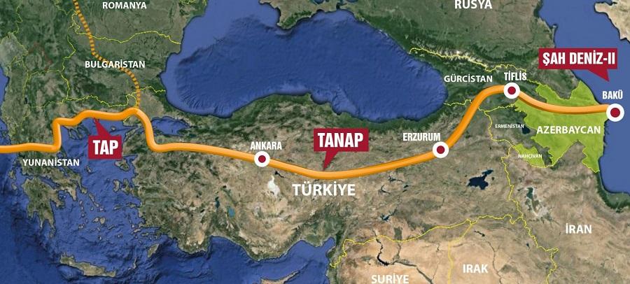 SOCAR. TANAP полностью готов к поставкам газа в Европу