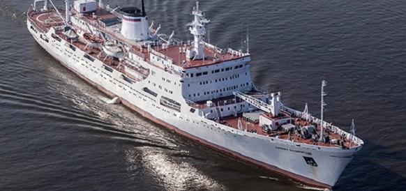 Океанографическое судно «Адмирал Владимирский» покинуло Маврикий