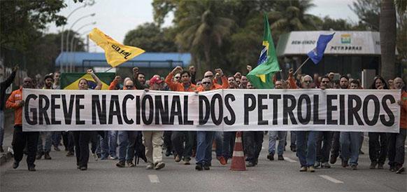 Несмотря на судебный запрет, нефтяники Бразилии начали 72-часовую забастовку