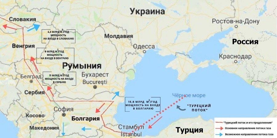 Самый продвинутый. Проект South Stream Lite реализуется активнее других вариантов продолжения 2-й нитки МГП Турецкий поток в Европе