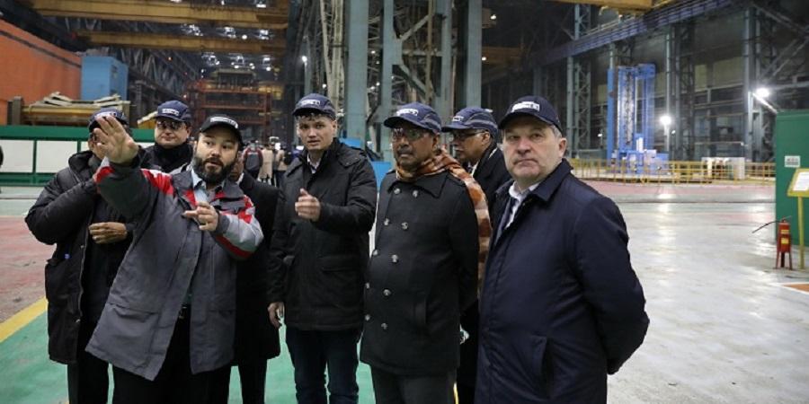 Министр науки и технологии Бангладеш проинспектировал изготовление оборудования для АЭС Руппур