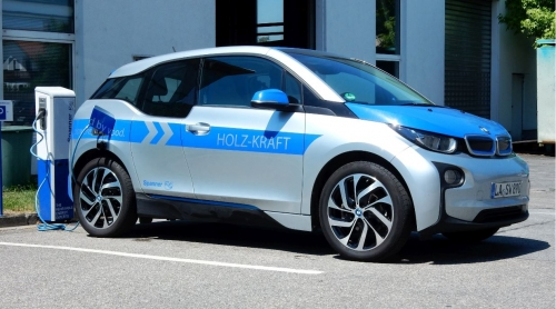 Electricity from wood gasifiers for fuelling electric cars