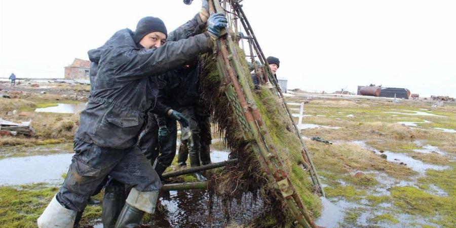 Газпром добыча Надым участвует в масштабном экологическом проекте на острове Вилькицкого